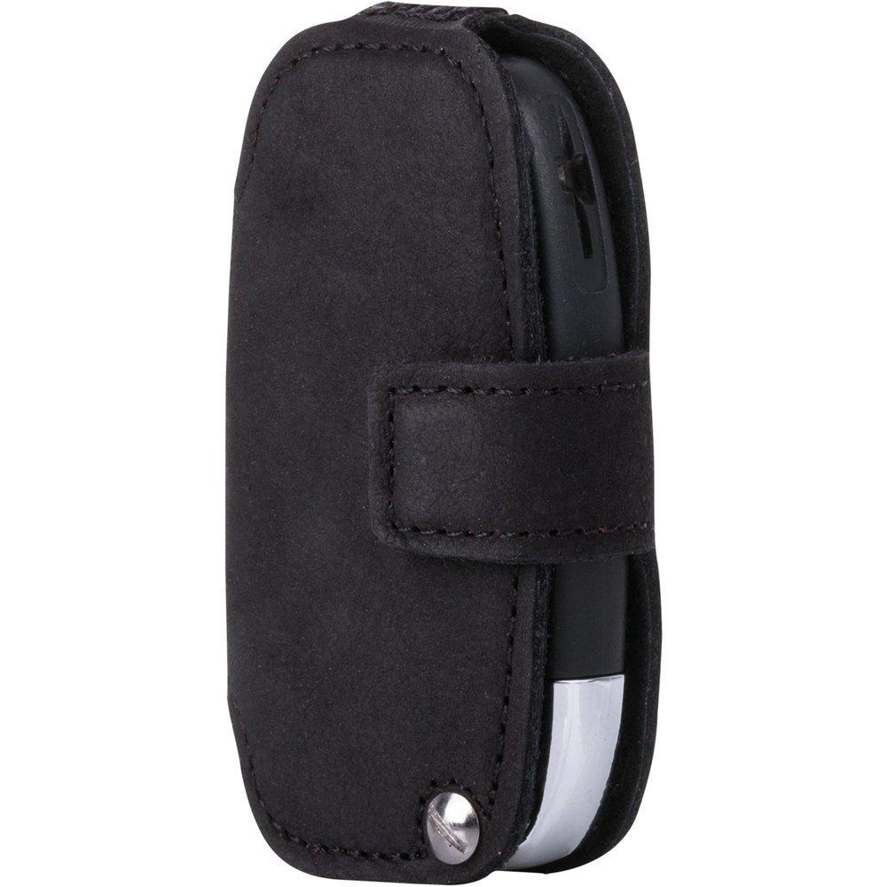Car key case (remote control) for the car - Nubuk Black