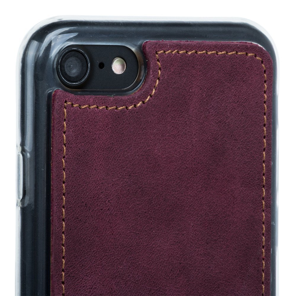 Back case - Nubuck Burgundy