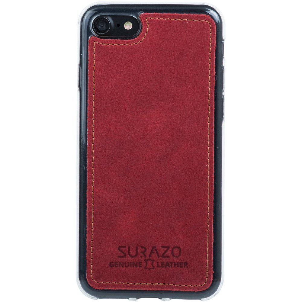 Back case - Nubuck Red