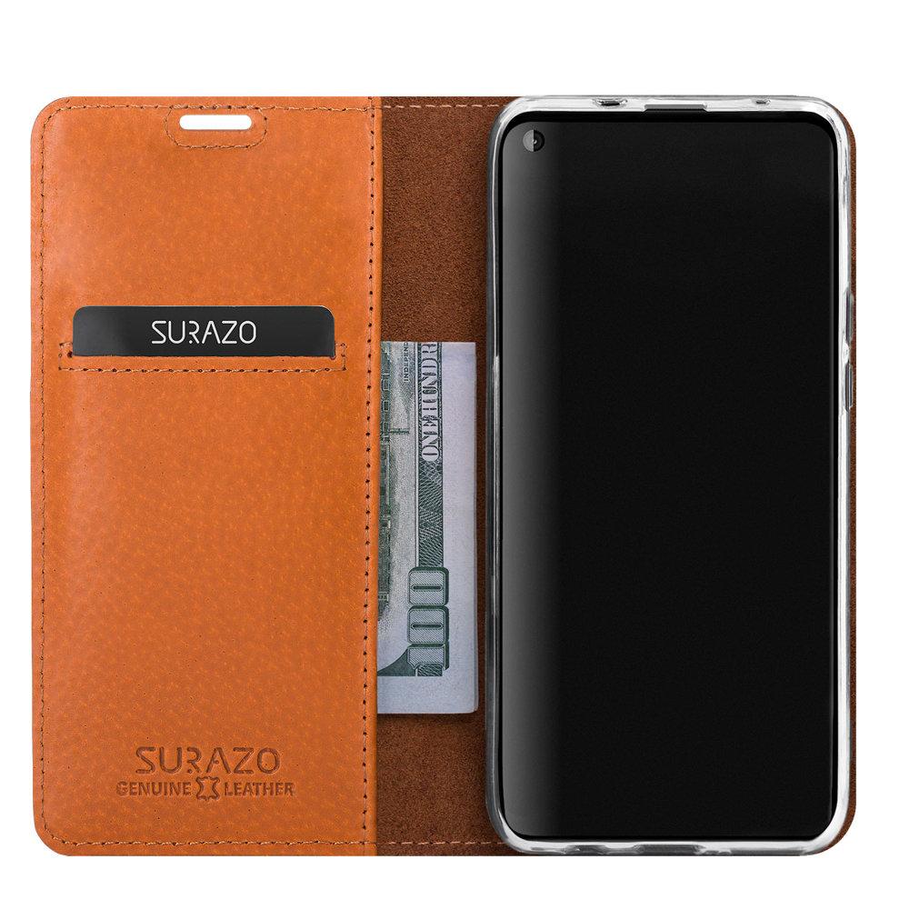 Smart magnet RFID - Nubuck Burgundy