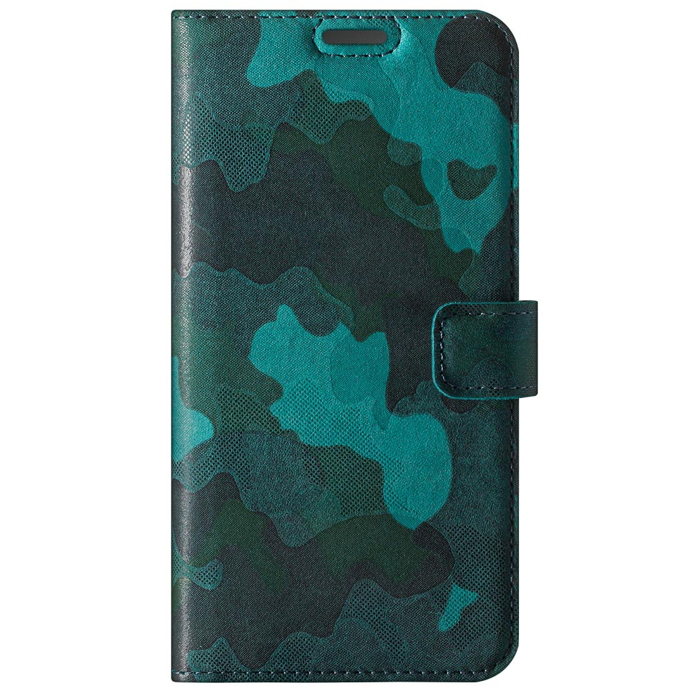 Wallet case - Military Camouflage Turquoise
