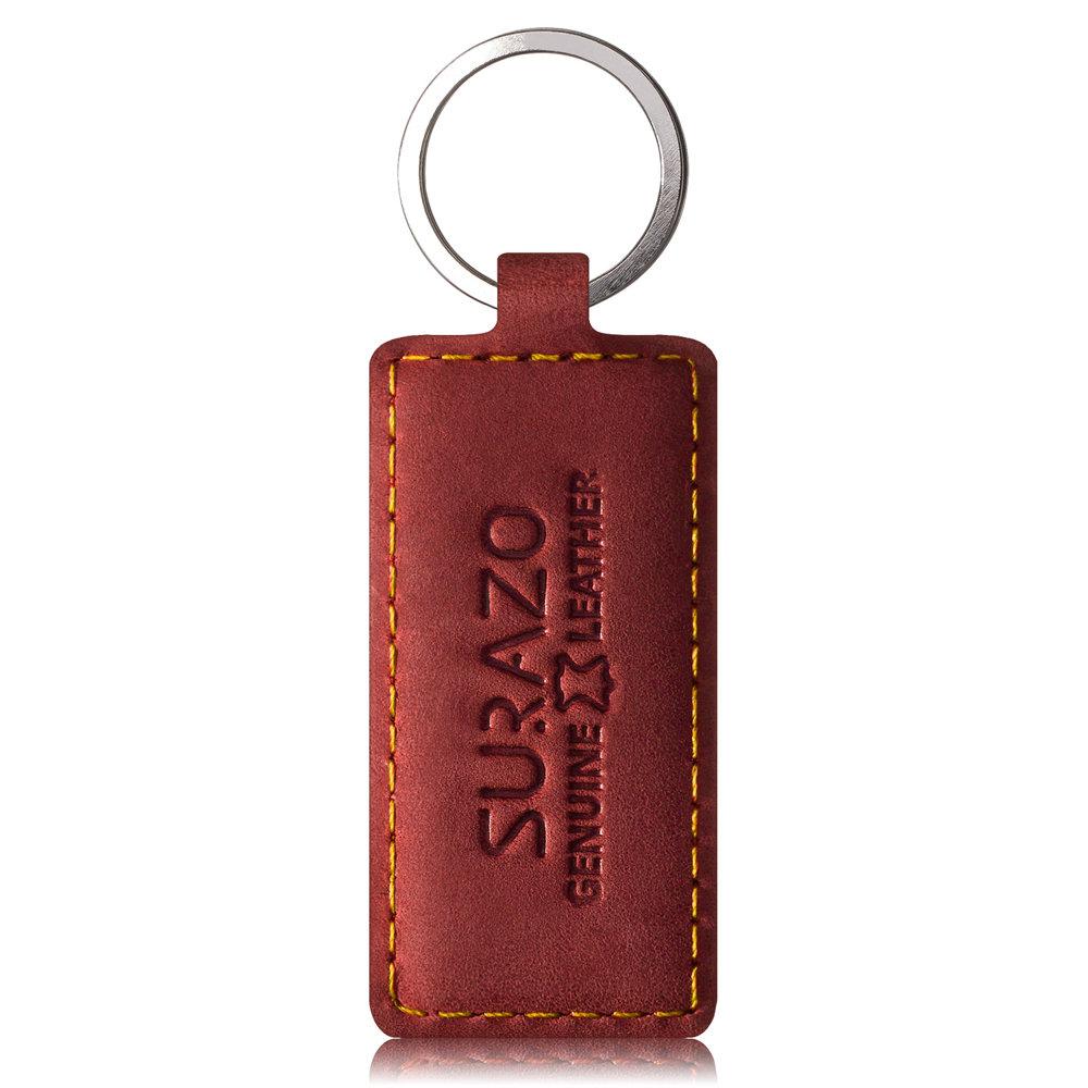 Wallet case - Nubuck Red