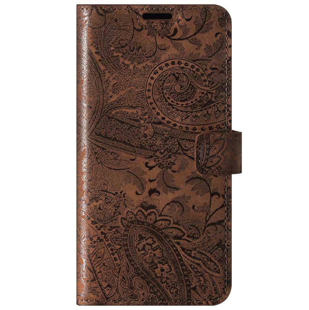 Wallet case - Ornament Brown