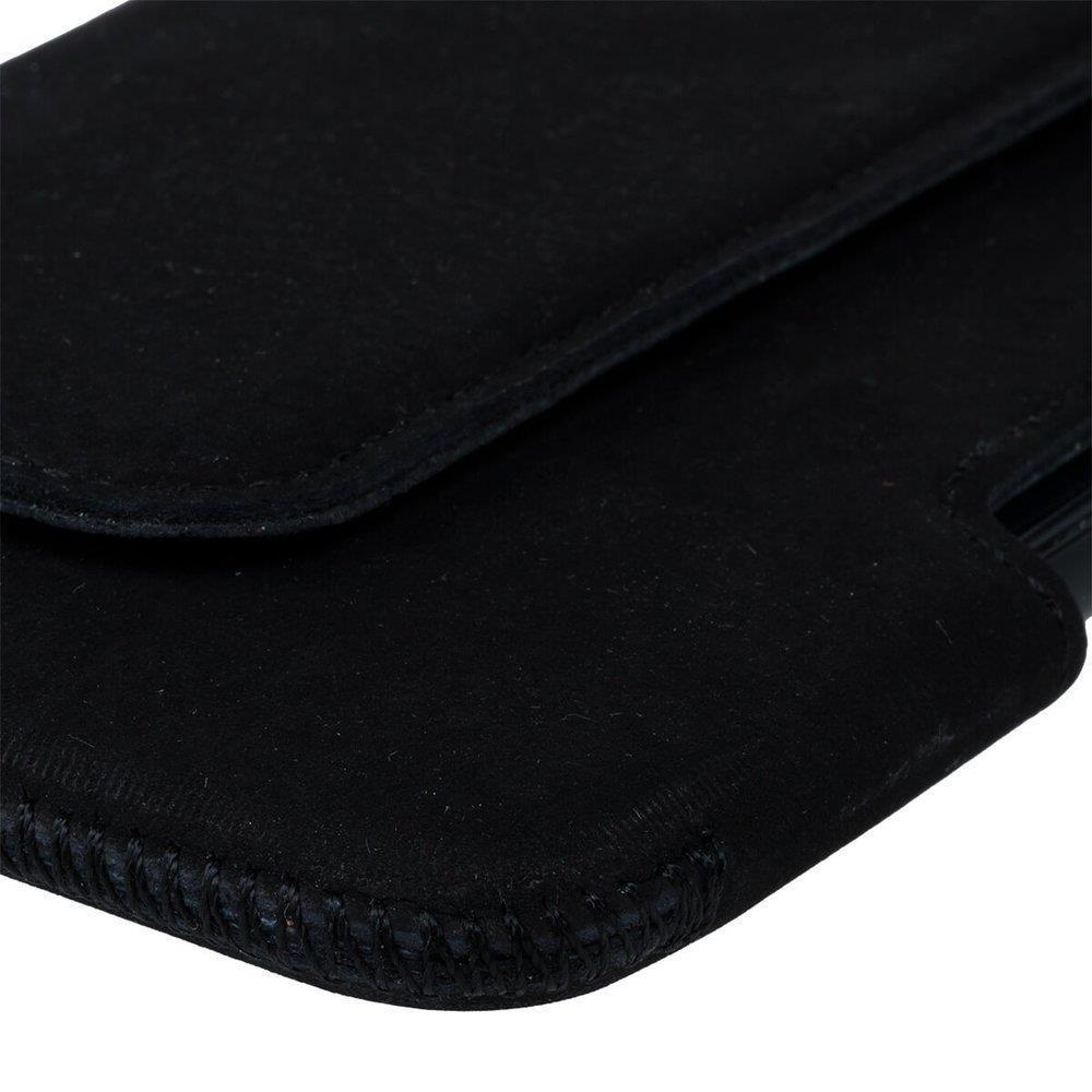 Belt case - Nubuk Czarny