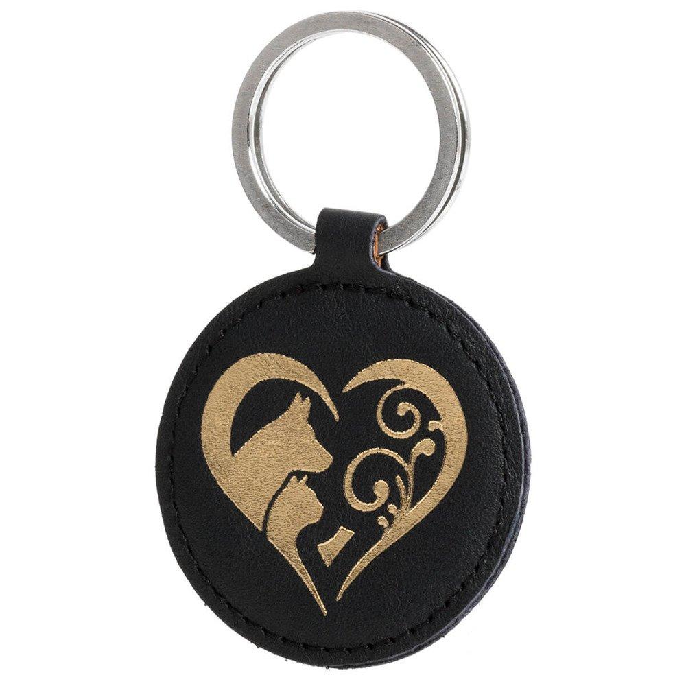 Brelok na klucze - Costa Czarna - Animal Love Złoty