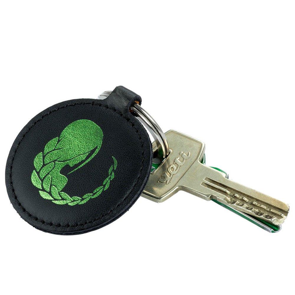 Brelok na klucze - Costa Czarna - Zielona Panna