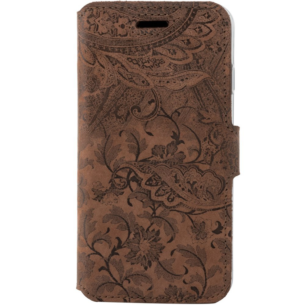 Slim cover - Ornament Brązowy