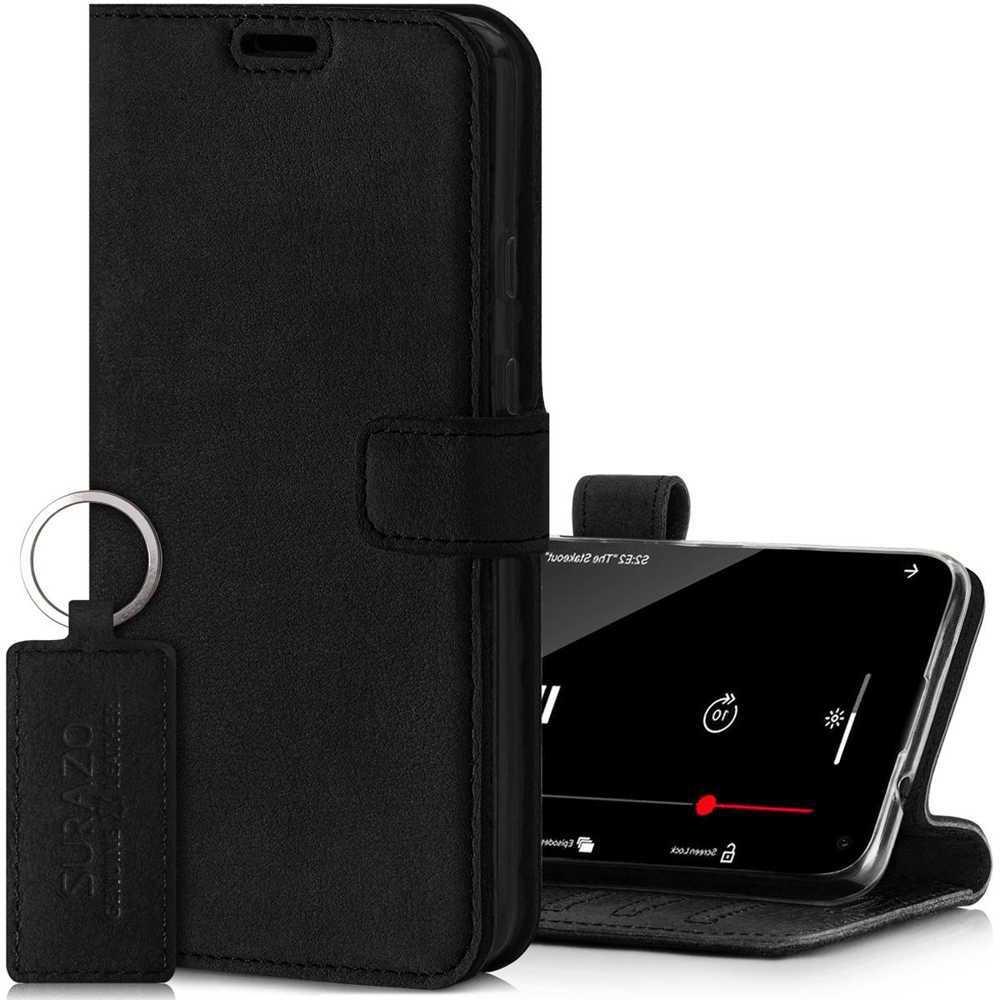 Wallet case - Nubuk Czarny