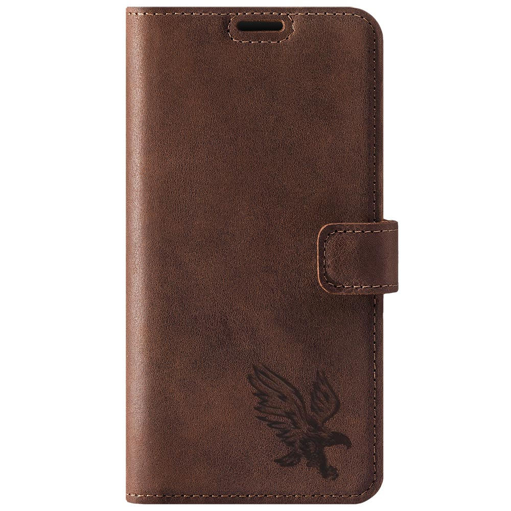 Wallet case - Nubuk Orzechowy - Orzeł