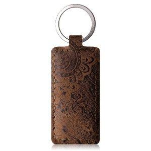 Brelok na klucze - Ornament Brązowy